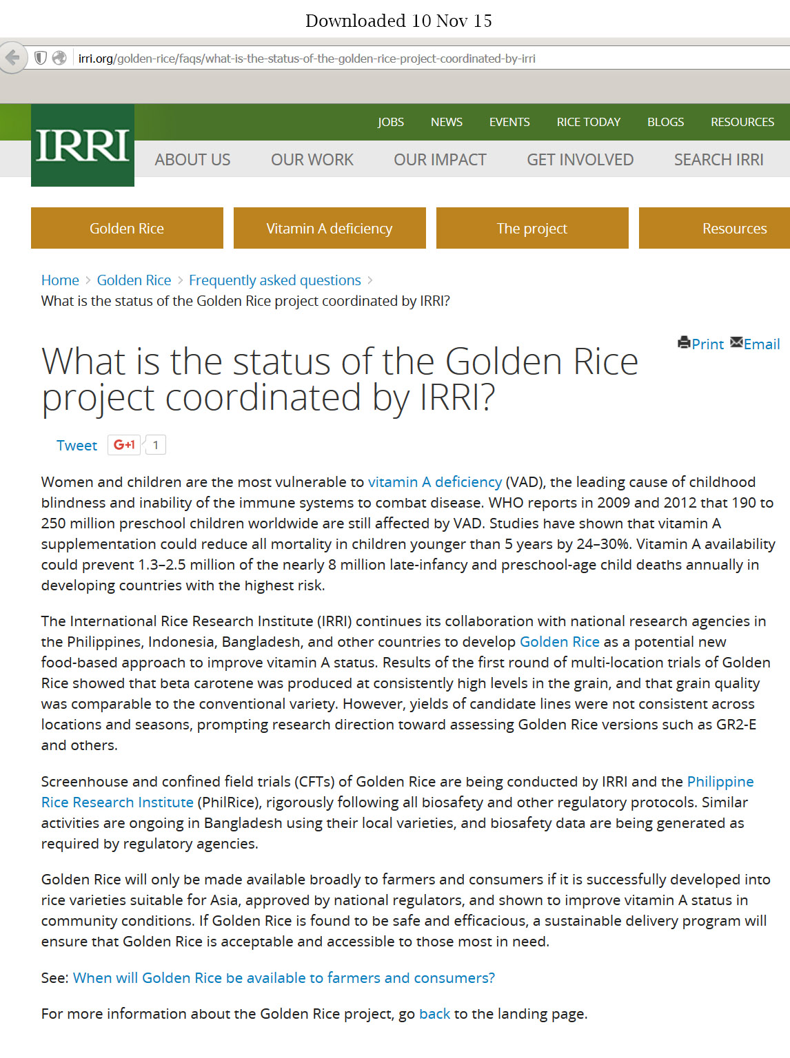 irri research paper Susan r mccouch rice genetics lab  and 1440 additional samples from the international rice research institute (irri)  has a new paper.