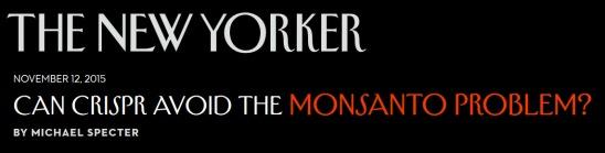 MonsantoProblem